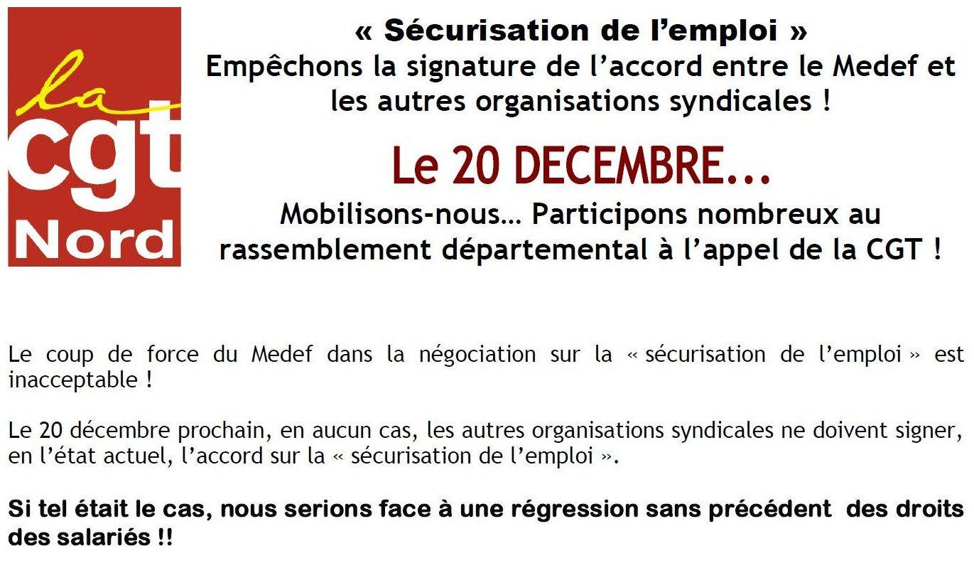 LILLE - 20 décembre 2012 - Rassemblement départemental interprofessionnel dans Actions_régionales 20-decembre-2012_1