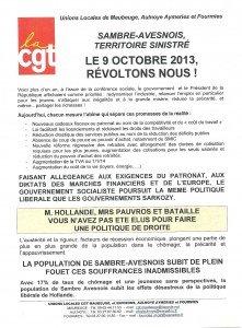 SAMBRE AVESNOIS, territoire sinistré... le 9 octobre, Révoltons nous ! dans Actions_locales tract9-10-13-001-221x300